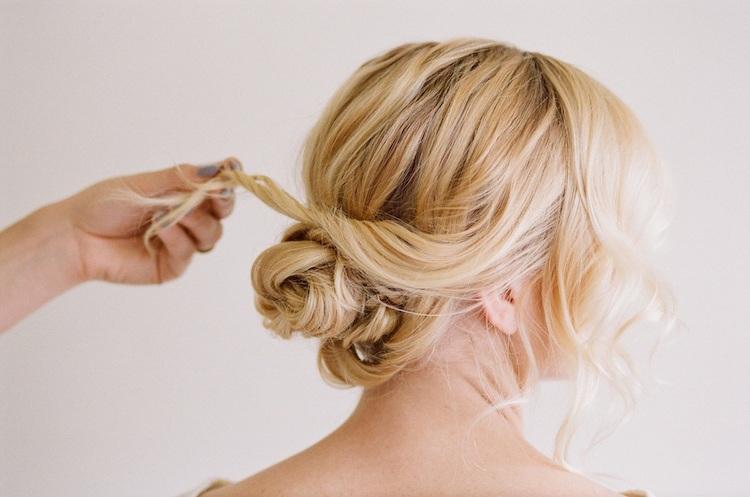 Lässige Hochsteckfrisuren Für Mittellange Haare 12 Tolle Styling Ideen