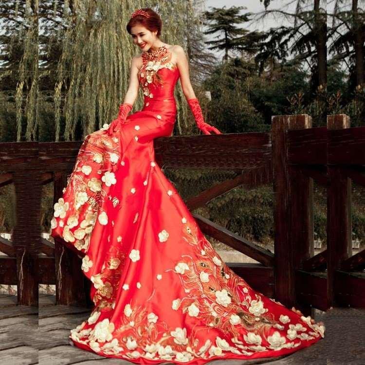 Brautkleid In Rot Bedeutung Der Farbe Und Tipps Für Mutige Bräute