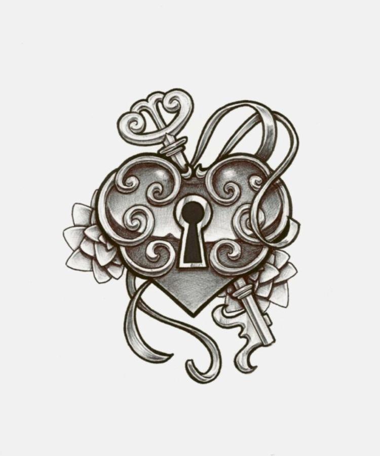 Tattoo Vorlagen Einfach Herz