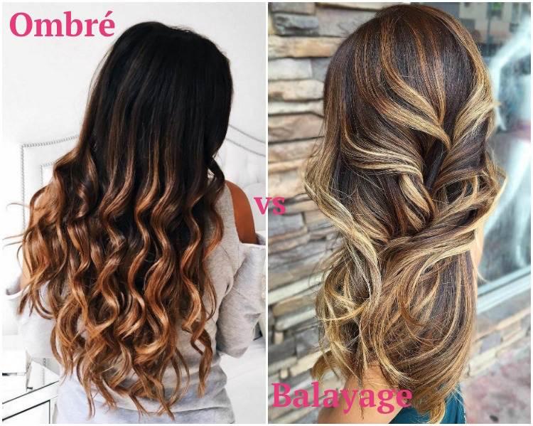 Balayage Braun Vs Balayage Blond Die Große Haarfarben Frage