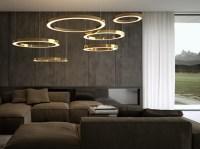 Moderne Designer Wohnzimmerlampen fr ein stilvolles ...