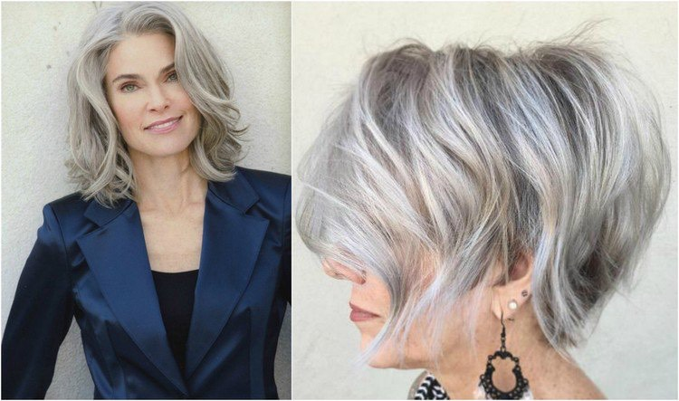 Frisuren Ab 50 Mittellang
