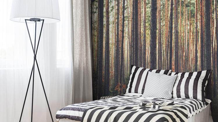 Fototapete Wald im Schlafzimmer  Ideen fr wundervolle Motive im Groformat