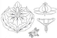 √ malvorlagen blumen ornamente | malvorlagen ornamente