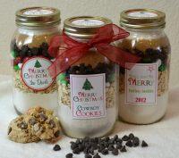 Backmischung im Glas selber machen: Rezepte fr Muffins ...