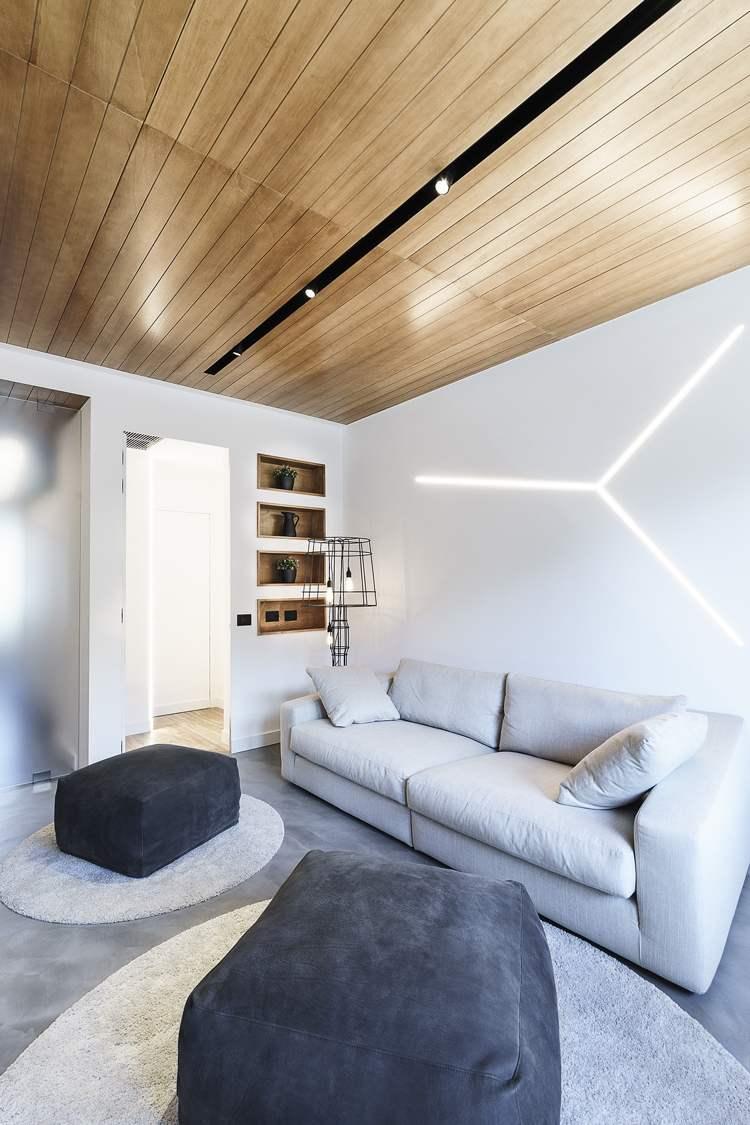 Lichtleisten fr indirekte Beleuchtung in jedem Bereich