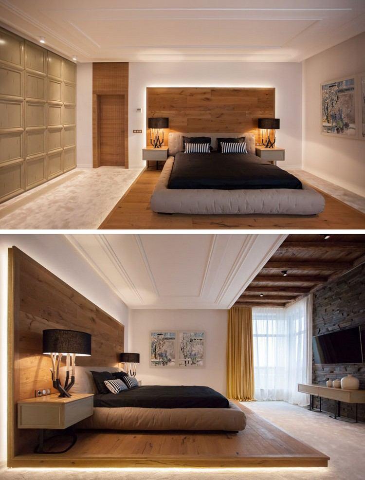Schlafzimmer Design Mit Holz 22 Einrichtungsideen Mit – Startseite ...