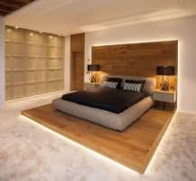 Schlafzimmer Design mit Holz   22 Einrichtungsideen mit ...