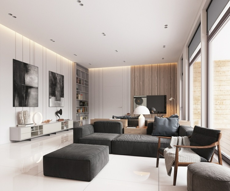 Minimalistisch Fantastische Moderne Schlafzimmer Deko