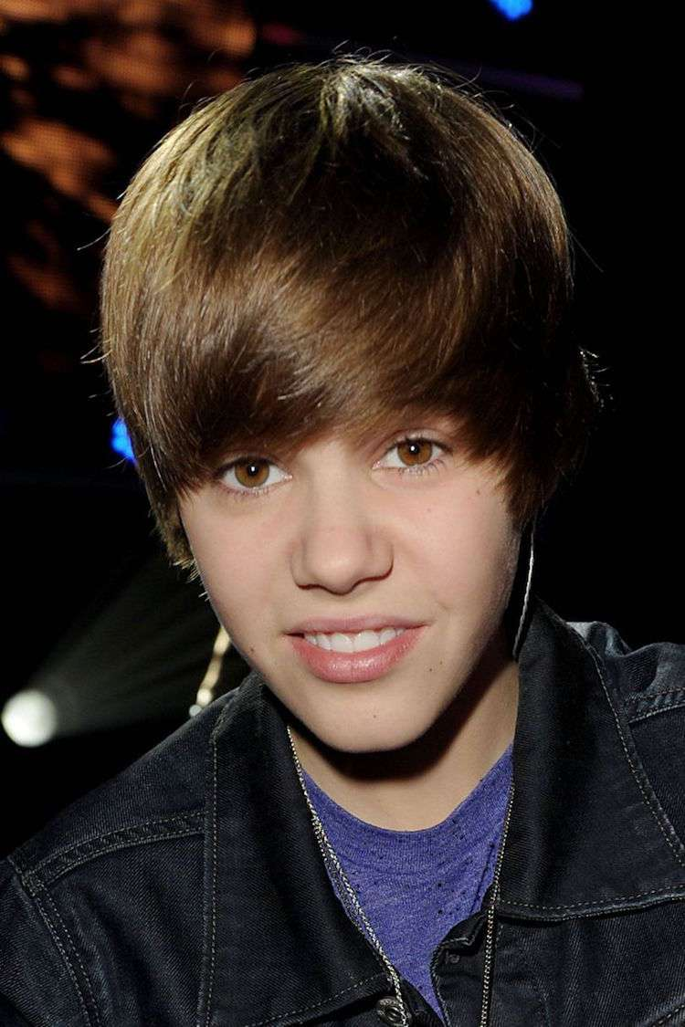 Frisur Justin Bieber