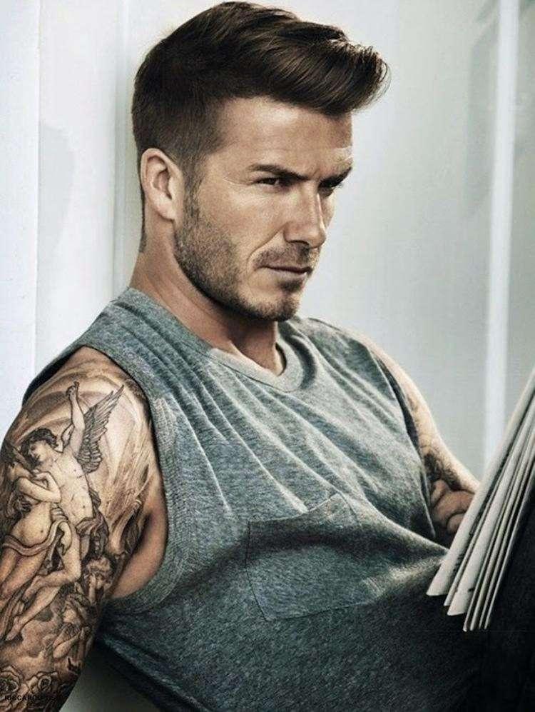 So Sieht Die David Beckham Frisur Im Laufe Der Jahre Aus!