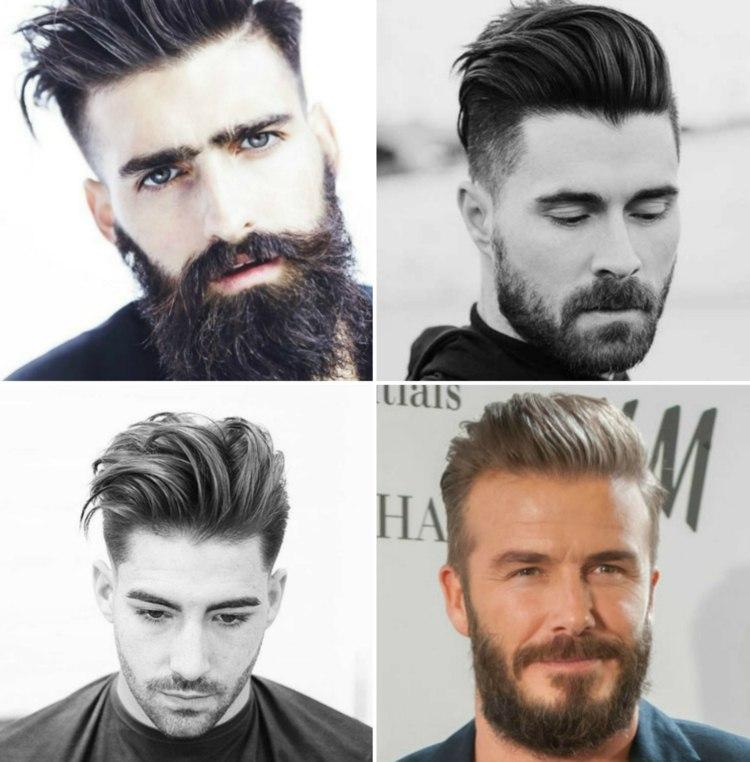 Sie Suchen Geeignete Frisuren Mit Bart? 5 Trendige Kombis Finden Sie