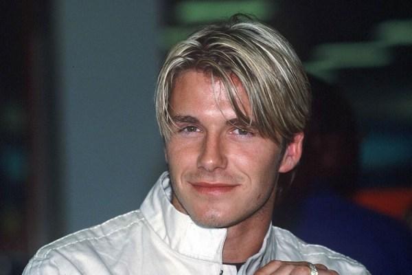 30 David Beckham Hairstyles As A Blonde Hairstyles Ideas Walk