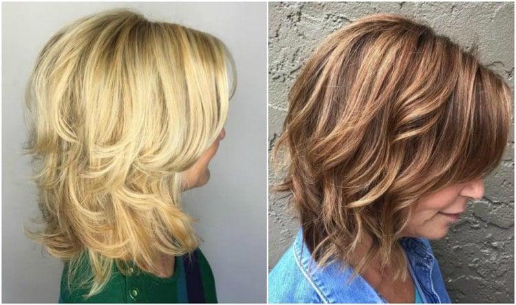 Frisuren Halblang Bilder