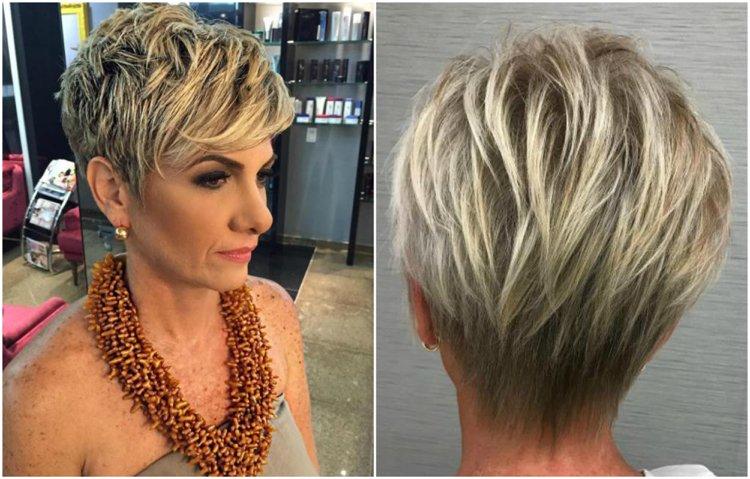 Modische Frisuren Für Frauen Ab 50 Und Haarfarben Die Jünger Machen