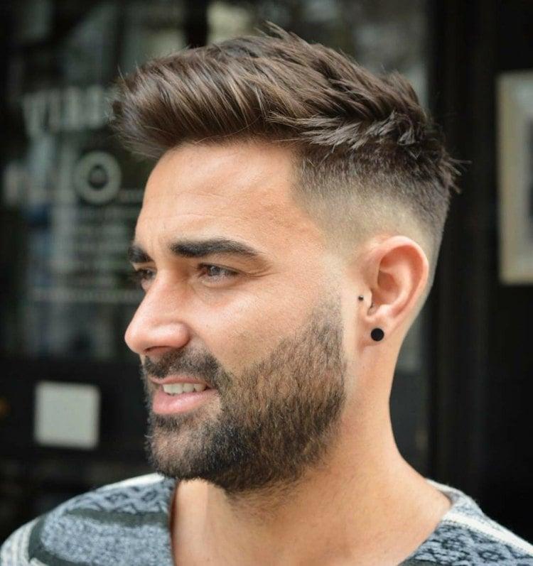 Welcher Haarschnitt Zählt Zu Den Angesagten Männerfrisuren Trends 2018