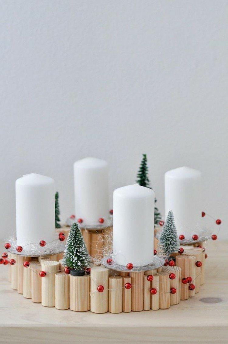 So sehen originelle und zauberhafte Kerzenständer für Weihnachten aus!