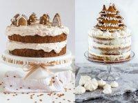 Wie kann man einen Kuchen zu Weihnachten stimmungsvoll ...