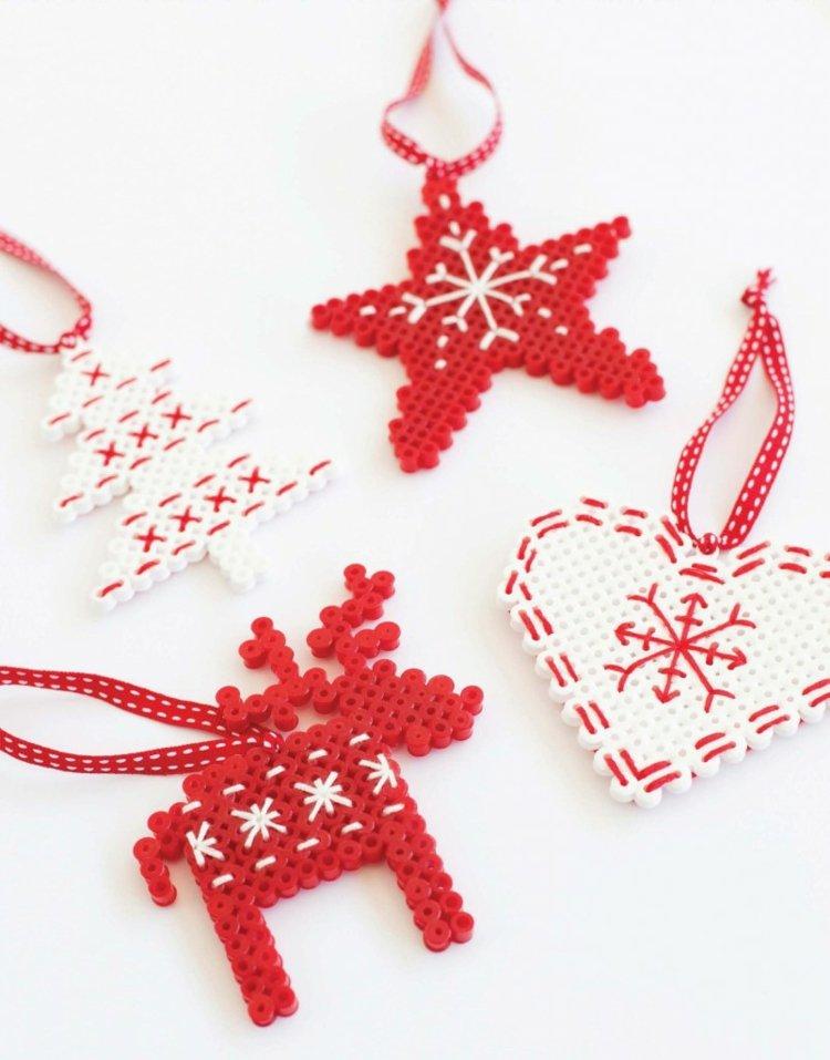 Moderne Weihnachtskarten Basteln.Weihnachtskarten Selber Basteln Rentier