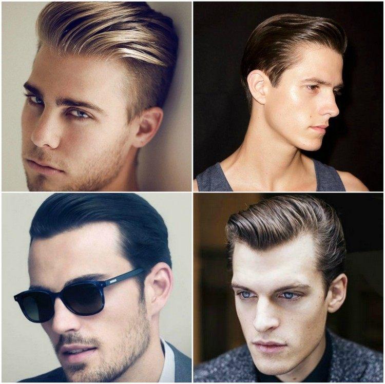 Manner Haare Nach Hinten Gelen