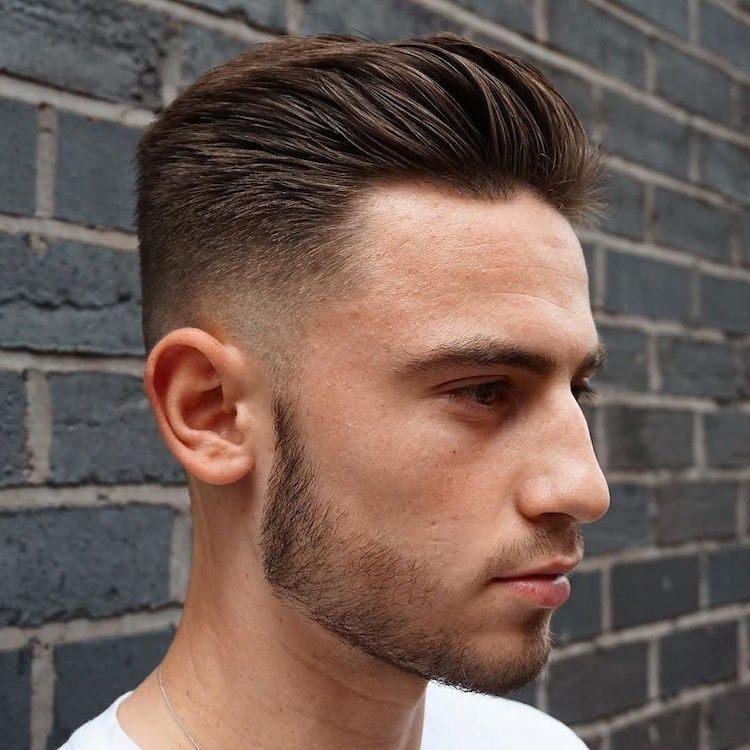 Trendfrisuren Für Männer So Stylen Sie Den Trendigen Sleek Look!