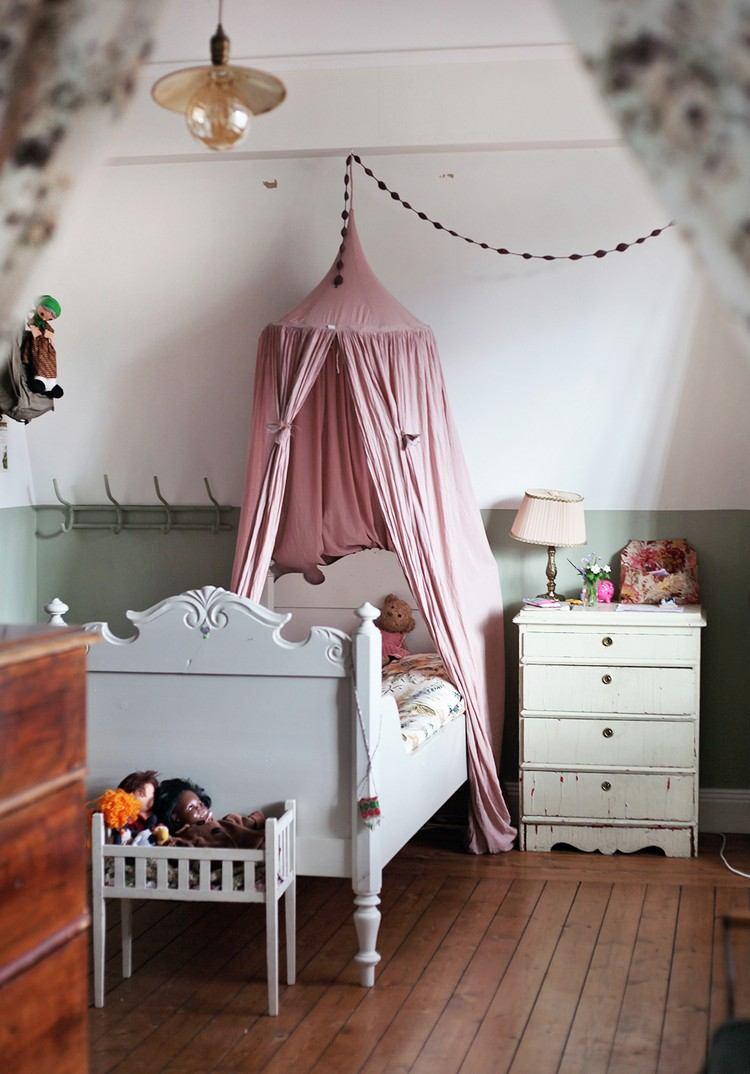 Betthimmel Kinderbett Diy : betthimmel, kinderbett, Ideen,, Einen, Baldachin, Kinderzimmer, Selber, Machen