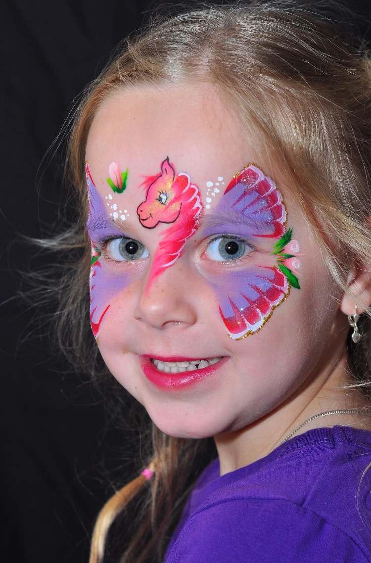 Schmink Ideen Monster Schminken Fur Kinder Halloween De