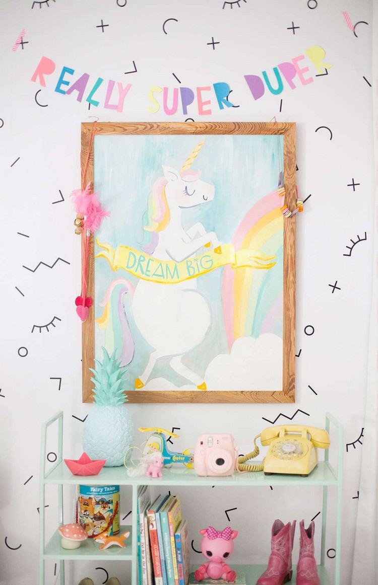 Kinderzimmer Gestalten Einhorn