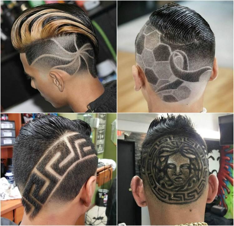 Mit Stylischen Haar Tattoos Werden Sie Garantiert Im Mittelpunkt Stehen!