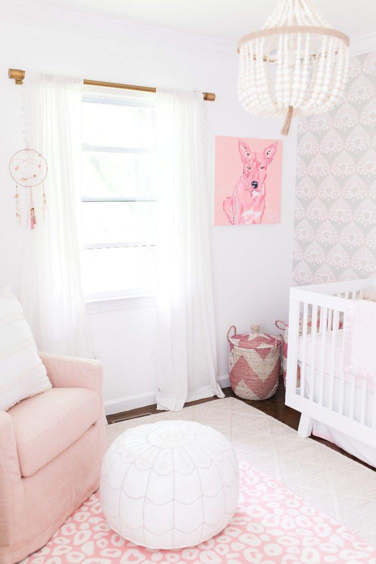 babyzimmer ideen grau weiss. Black Bedroom Furniture Sets. Home Design Ideas