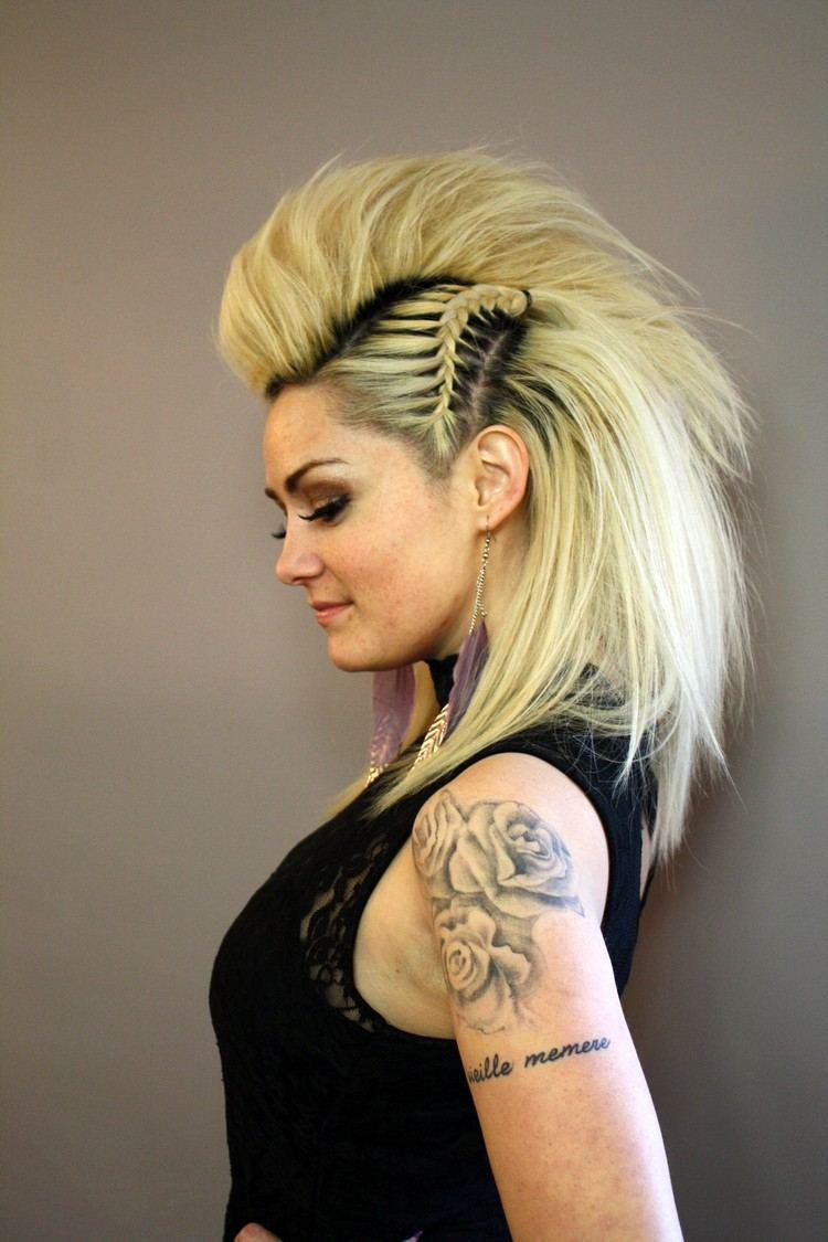 50 Styling Ideen Wie Sie Einen Faux Hawk Für Lange Haare Stylen
