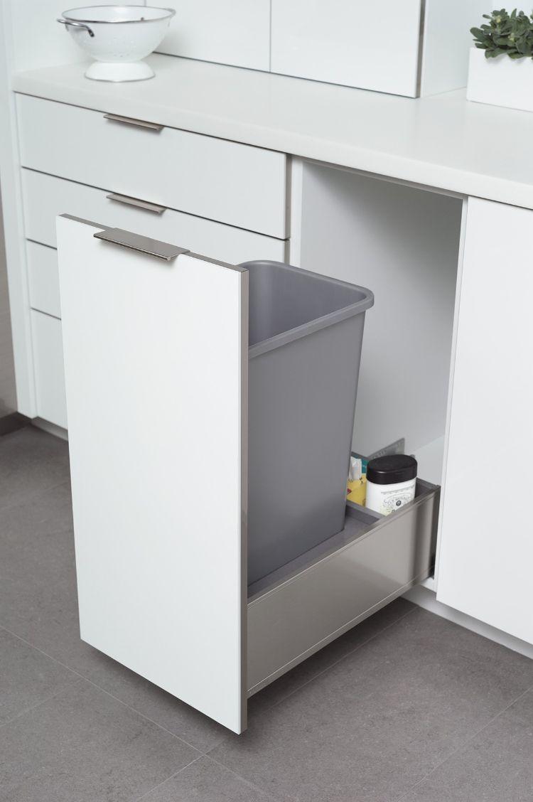 Mülleimer Schrank | Abfallsystem - Küchenfinder