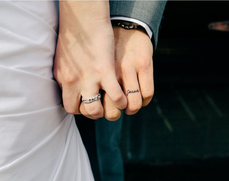 Tattoo Ringe Hochzeit
