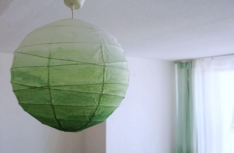 So knnen Sie die Ikea Papierlampe verschnern und