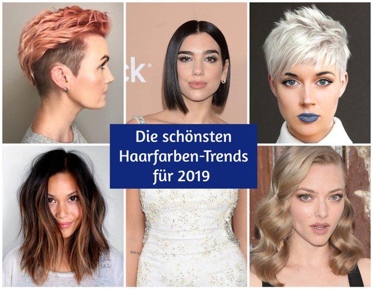 Modische Kurzhaarfrisuren Damen 2019 Frisuren Trend