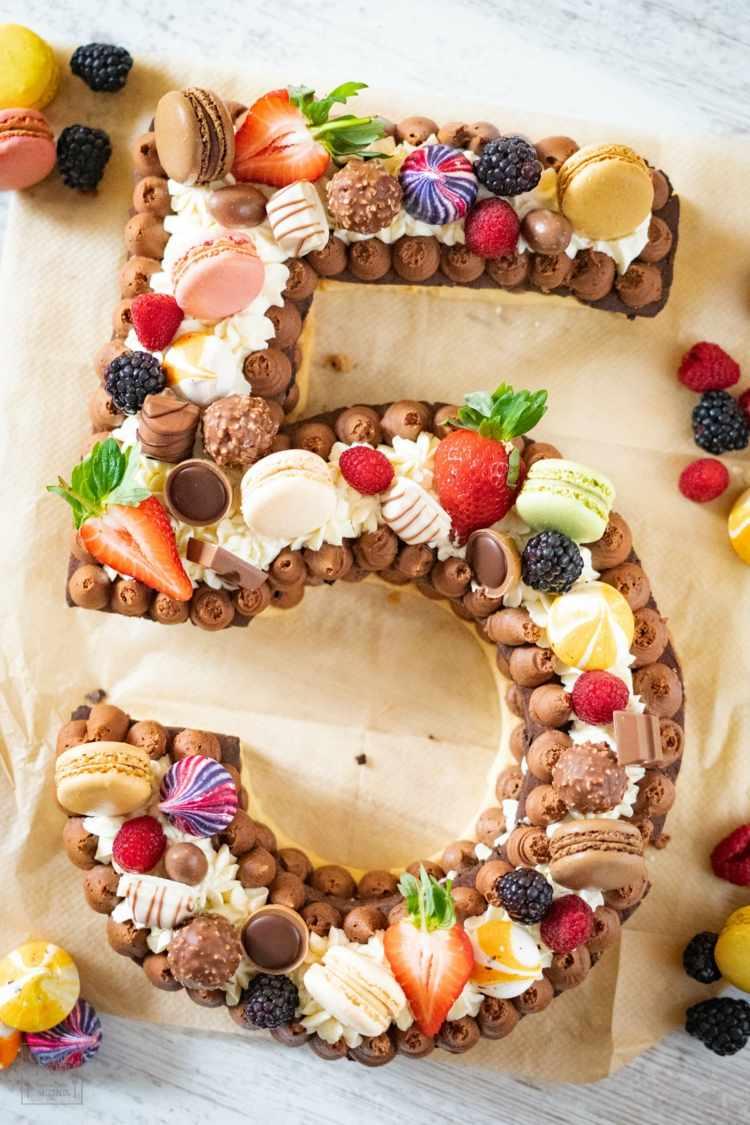 kindergeburtstag kuchen deko - meerjungfrauen torte ohne