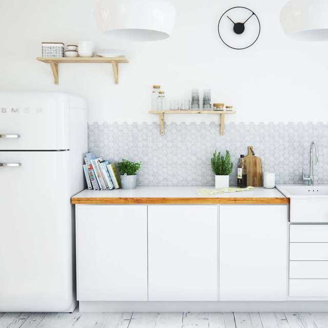 Skandinavische Küche stilvoll einrichten - 50+ Ideen und Ispirationen!