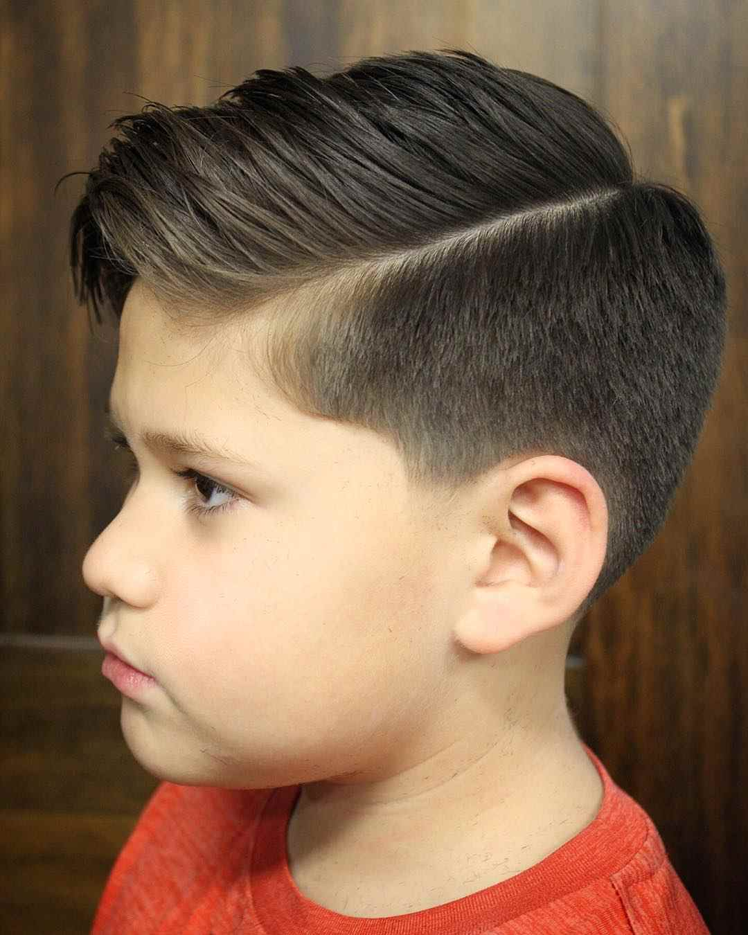 Kinder Jungen Haarschnitt Undercut