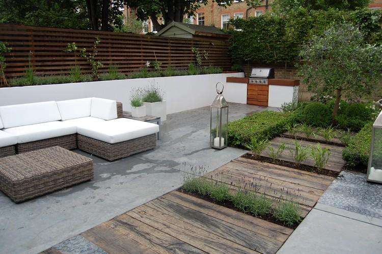 Amnagement de jardin contemporain 105 ides modernes en photos