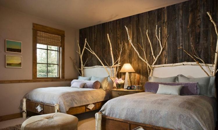 fabriquer une tete de lit originale et moderne 30 idees creatives