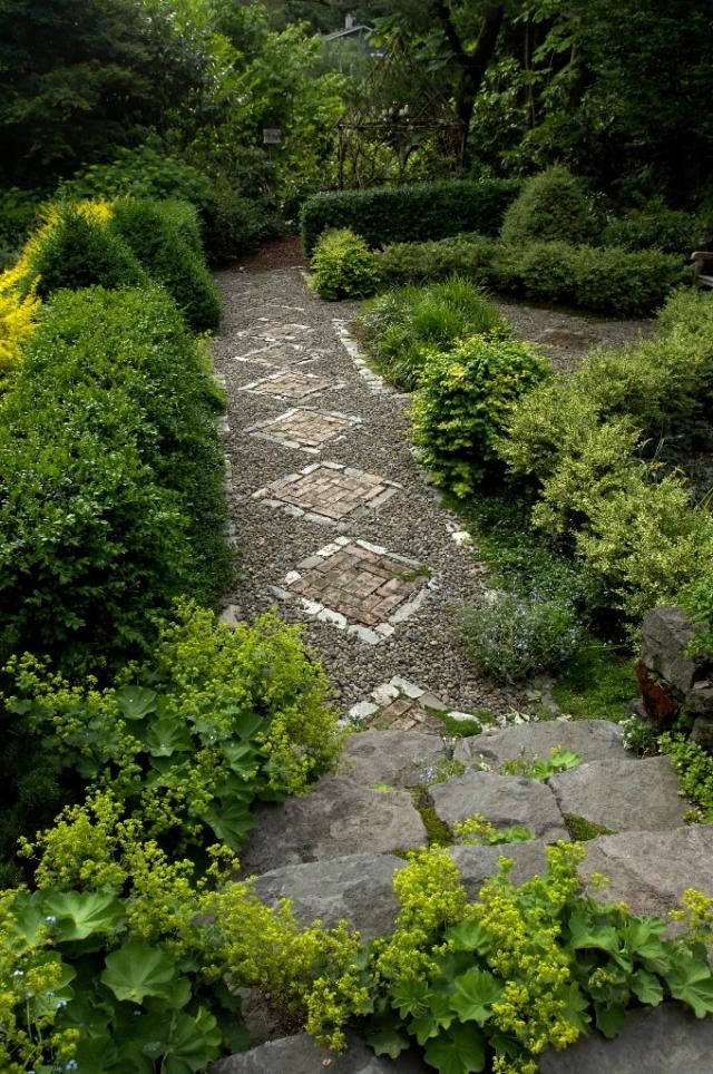 60 ides cratives pour amnager son alle de jardin
