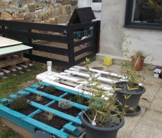 Palettes En Bois Meubles Et Accessoires Pour Votre Jardin