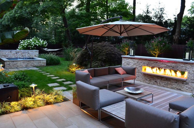 Design Exterieur Terrasse Jardin Deco Amenagement Terrasse ...