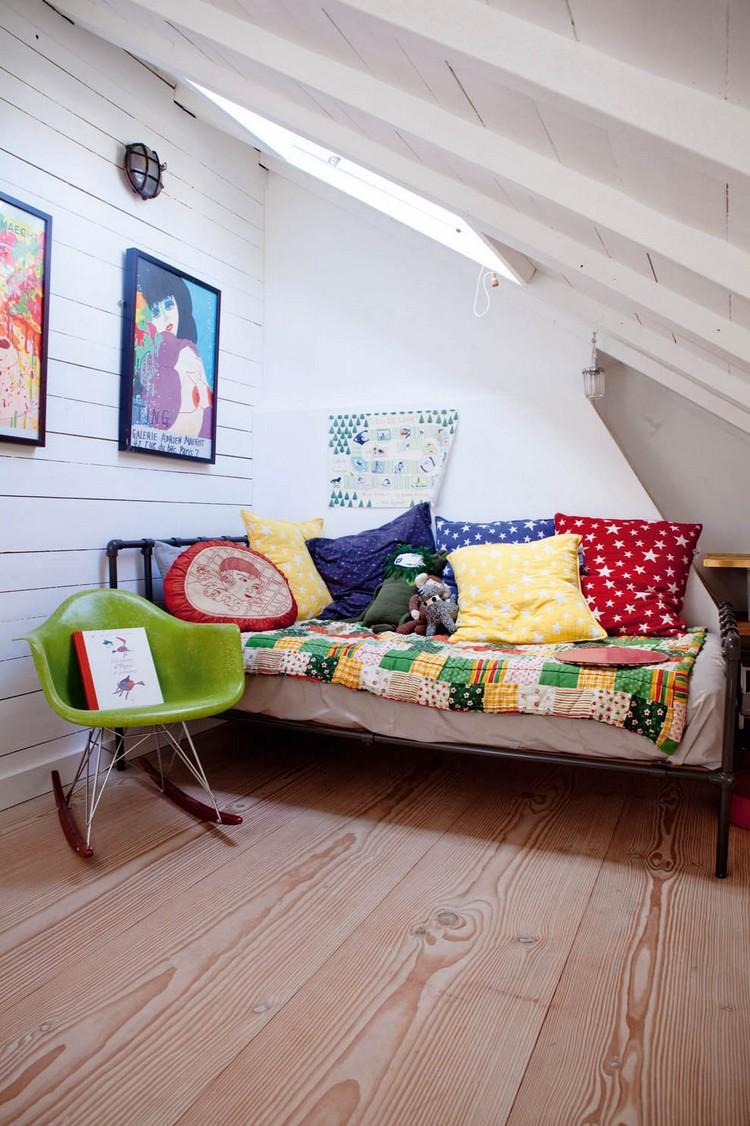 Chambre denfant sous les combles 28 ides de design