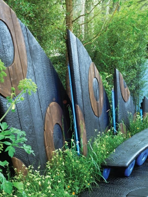 95 Ides pour la clture de jardin  palissade mur et brisevue