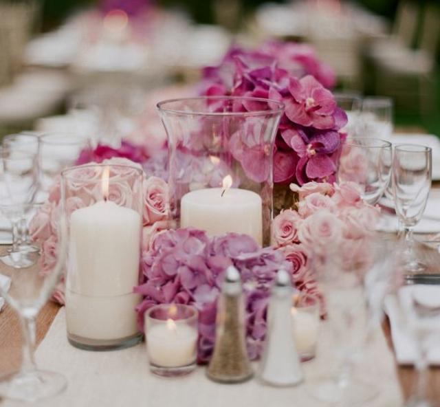 Kleine Hochzeitsgestecke