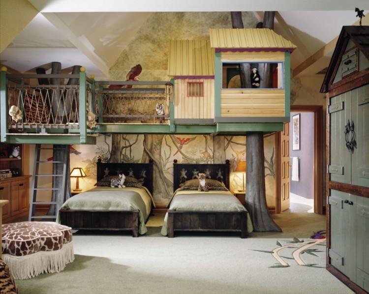 Dcoration Chambre Enfant Sur Les Thmes De Safari Et Jungle