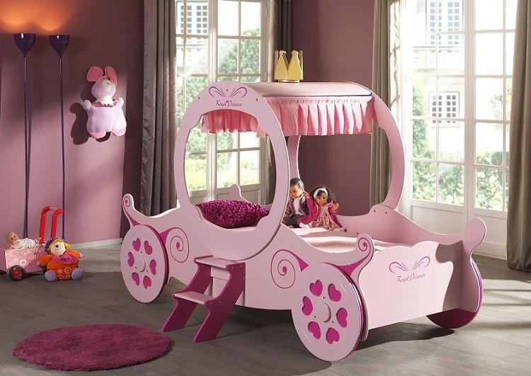 decoration de lit d enfant idees pour