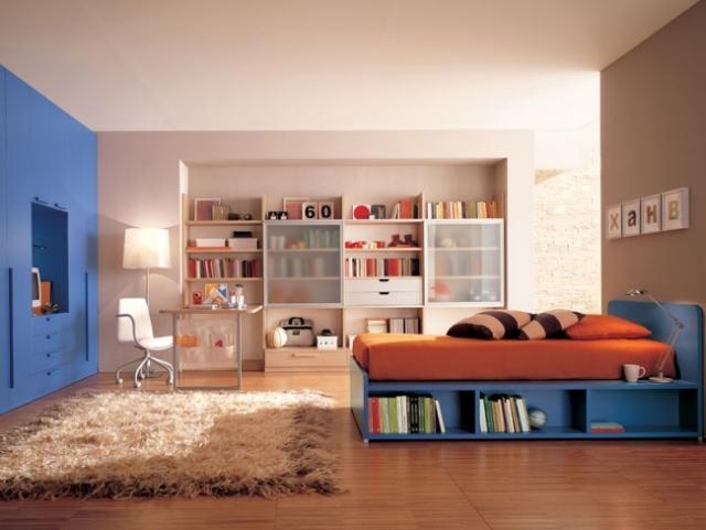 Chambre Ado Orange Et Gris - Décoration de maison idées de design d ...