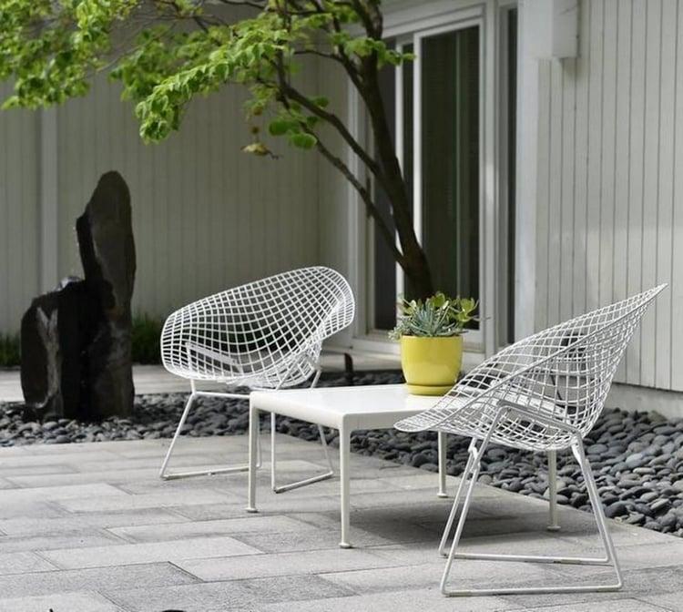 Plus De Idees De Salon De Jardin En Resine Bois Ou Metal ...
